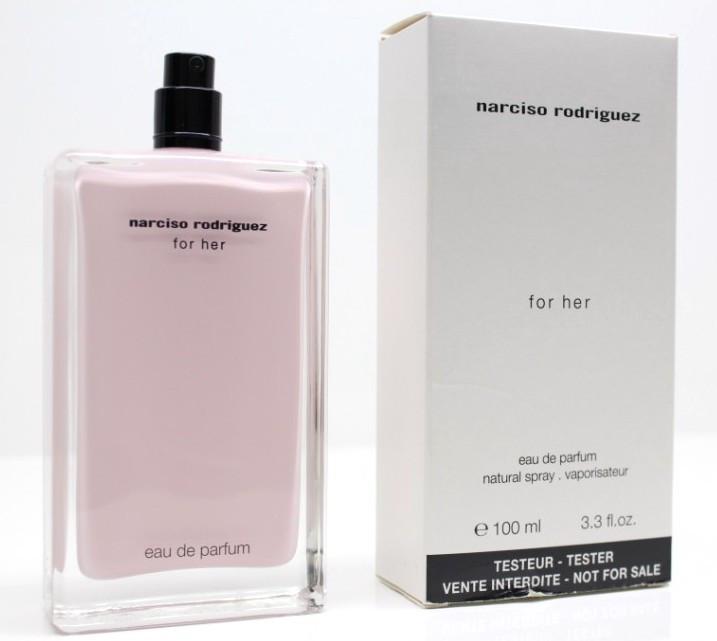 Narciso Rodriguez For Her парфюмированная вода - тестер, 100 мл