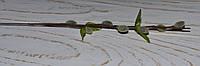 Ветка лозы искусственной беж-серая 31 см