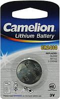 Дисковая батарейка CAMELION  Lithium Cell 3V  CR2430