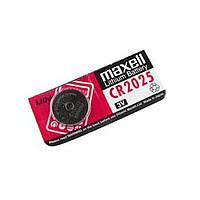 Дискова батарейка MAXELL Cell Lithium 3V CR2025