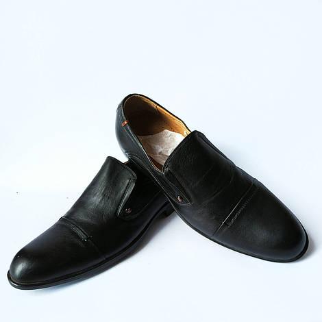 Кожаная обувь украинских производителей : мужские туфли, черного цвета, классические, фабрики Rondo Харьков