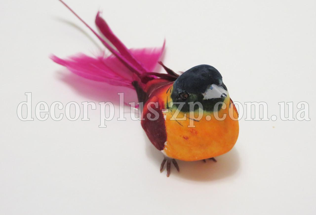 Птичка 3*4,5см, на проволочке