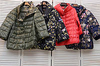 Двухсторонняя куртка на кнопках демисезонная Италия