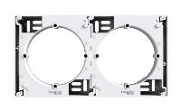 Коробка для наружного монтажа наборная белая Asfora Schneider Electric