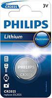 Дисковая батарейка PHILIPS Lithium Cell 3V CR2025