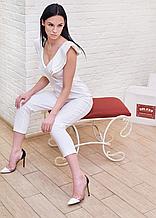 Комбинезон женский брендовий белый Milano