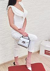 Комбинезон женский брендовий белый Milano, фото 2