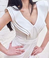 Комбинезон женский брендовий белый Milano, фото 3