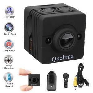 Міні камера Quelima SQ12 1080P Full HD реєстратор, екшн камера, веб-камера