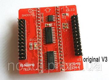 Адаптер для MiniPro TL866A TL866CS БАЗА плата XinGong V.3 (основная материнская плата с микросхемами)