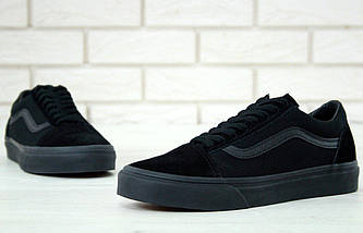Кеды Vans Old Skool Black (унисекс), vans old school, ванс олд скул, фото 3