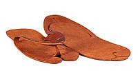 Шлепанцы-трансформеры коричневые