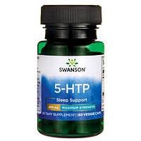 Антидепрессант высокой концентрации 5-НТР / Maximum Strength 5-HTP, 200 мг 60 вегетарианских капсул