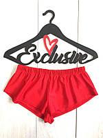 Женские красные шорты для пляжа