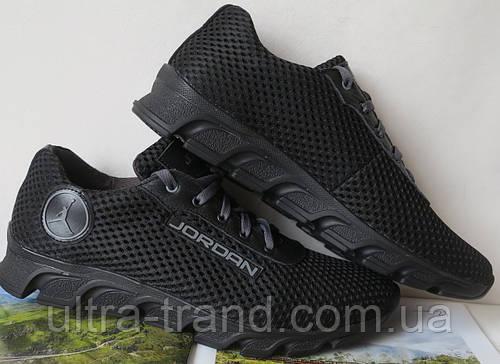 09b22482 Летние черные мужские кроссовки в стиле Jordan! сетка кожа: продажа, цена в  Харькове. кроссовки, кеды повседневные от