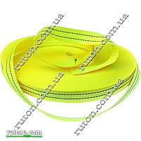 Лента, тесьма для стяжных ремней полиэстер 30 мм х 50 м на 800 кг