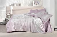 Комплект постельного белья  Clasy сатин размер евро RUCHE V1