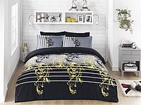 Комплект постельного белья  Clasy сатин размер евро SAPHIRE V1
