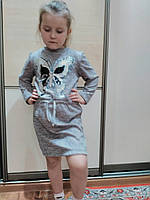 Оригинальное платье-туника для девочек