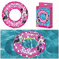 Детский надувной круг для плавания «Малышка Минни» | «Bestway»