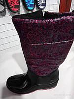 Женские сапоги резиновые