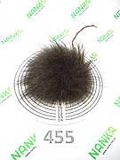 Меховой помпон Енот, 9/12 см, 455