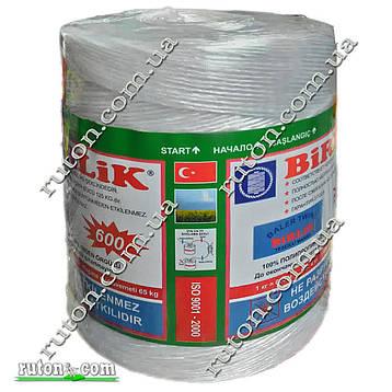 Шпагат сеновязальный,  BIRLIK 4 кг. - 2400 м ТЕХ 1660 ISO - 9001 - 2000, фото 2