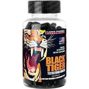 Бустер тестостерона BLACK TIGER 100 капсул
