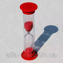 Часы песочные 1 минута, 9 см. длинна