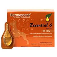 """Капли для кожи и шерсти для собак """"Essential 6 spot-on"""" 20-40 кг, Dermoscent™ (1 пипетка*2,4мл)"""