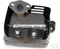 Глушитель генератора и мотоблока