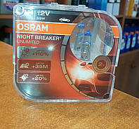 Лампы H1 Osram Night Breaker +110% 64150 NBU DUOBOX, фото 1