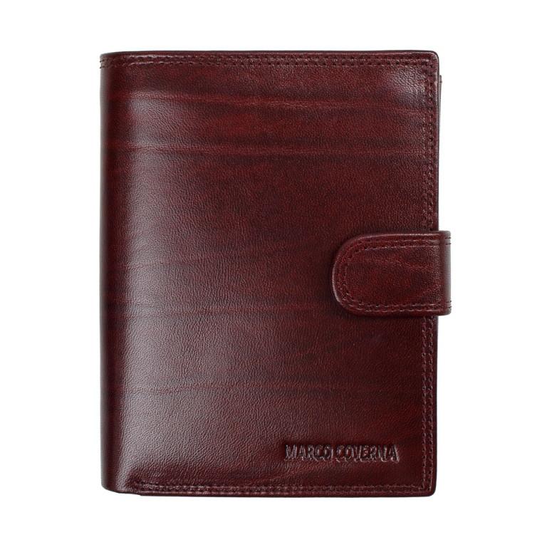 Мужской портмоне Marco Coverna из качественной натуральной кожи в коричневом цвете TR996-192B