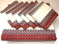 Скатерть с салфетками украинская
