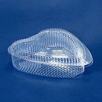 Упаковка для кондитерских изделий 219х194х55 мм., 1000 мл. в форме сердца