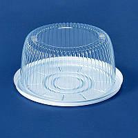Упаковка для торта 205х95 мм., 1800 мл. круглой формы