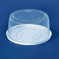 Упаковка для торта 235х115 мм., 2600 мл. круглой формы