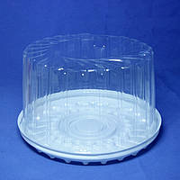 Упаковка для торта 245х140 мм., 4900 мл. круглой формы