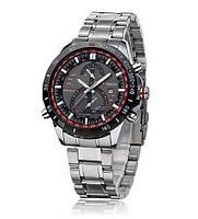 Часы наручные мужские CURREN 8149 Red & Silver с датой M059