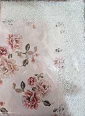Скатерть прямоугольная цветочный принт 120*150. , фото 2