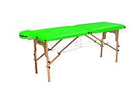 Массажный стол-кушетка Салатовый