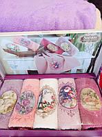 Набор махровых полотенец из 5шт, фото 1