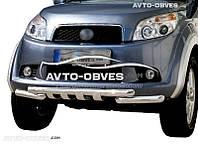 Защита переднего бампера модельная для Daihatsu Terios