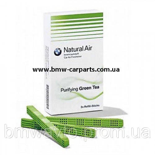 Комплект змінних картриджів освіжувача повітря BMW Purifying Green Tea, фото 2