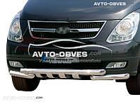 Защита переднего бампера модельная для Hyundai H1 2008-...