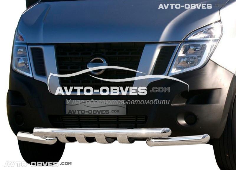 Защита переднего бампера модельная для Ниссан НВ400 2010-…