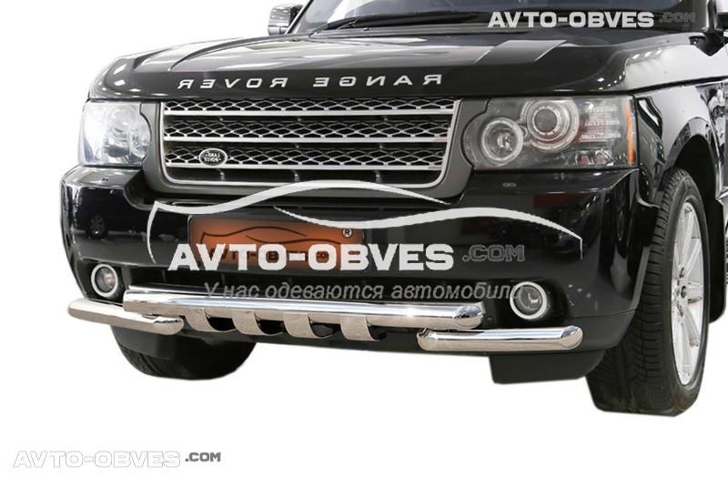 Защита переднего бампера модельная для Ренж Ровер Вог 2002-2012