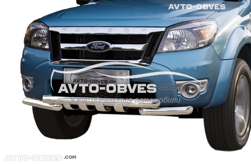 Защита бампера модельная для Ford Ranger Pick-Up 2009 - 2011