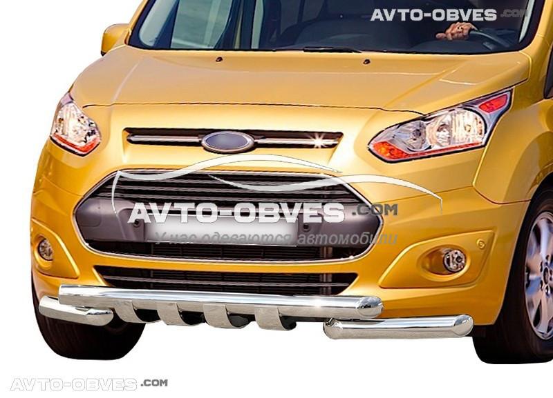 Защита бампера модельная для Ford Connect 2014-...