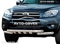 Защита переднего бампера модельная для Toyota Rav4 2006-2010